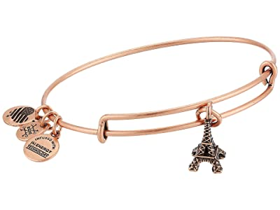 Alex and Ani Eiffel Tower Bangle (Rafaelian Rose Gold) Bracelet
