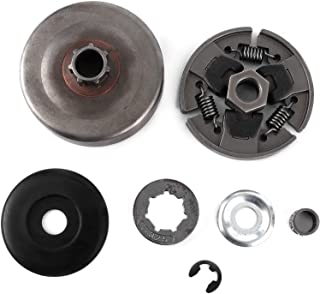 BLLBOO-Embrague de motosierra-Juego de embrague de aleación de zinc Reemplazo para motosierra eléctrica MS270 MS280 MS281 ...
