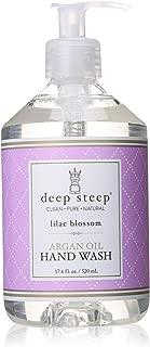 Deep Steep Argan Oil Liquid Hand Wash, Lilac Blossom, 17.6 Fluid Ounce