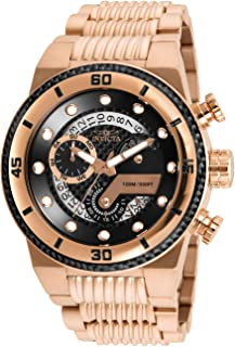Men's S1 Rally Quartz Watch with Stainless Steel Strap, Rose Gold, 30 (Model: 25283)