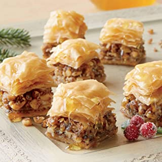 Miniature Baklava Desserts, Approx. 20 pieces 14 oz. Net Wt. from The Swiss Colony
