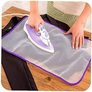 Angoter 1PCS Tabla de Planchar Cubierta Protectora de la Prensa de Malla de Hierro para el Planchado de Tela Guardia Proteger la Delicada Prenda de Ropa para el Hogar