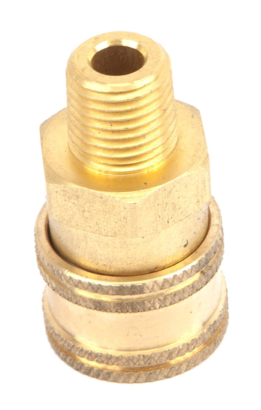 Forney 75126 Quick Coupler Male Socket, 1/4inch M-NPT, 5,500 PSI