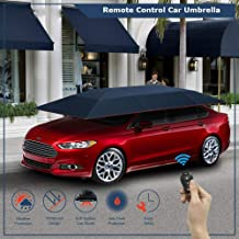 HSR Portable Water-Resistant, Wind-Proof Universal Automatic Remote Control Car Umbrella (4.2 Meter)