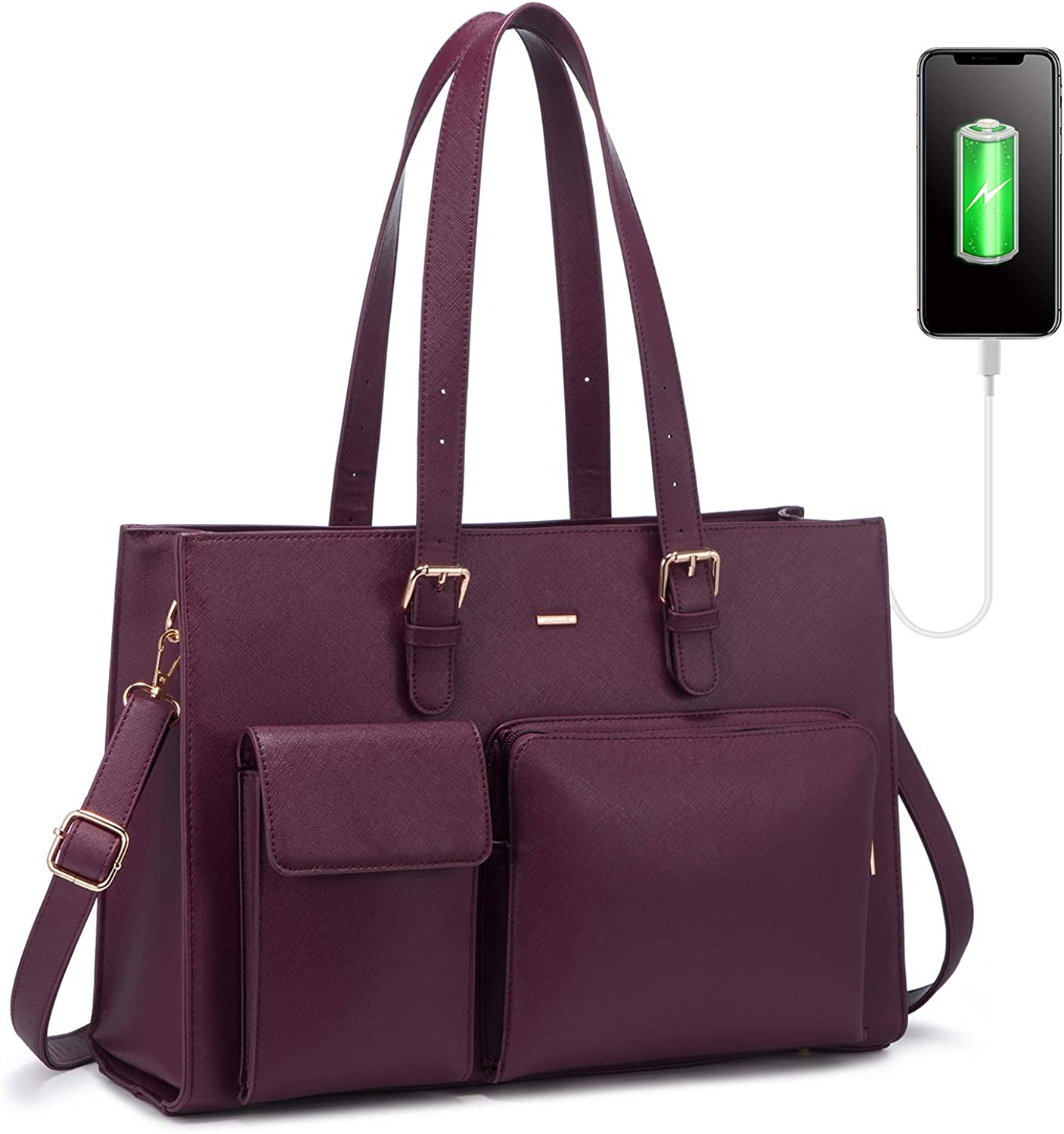 Direct stock discount Laptop Bag for Women 15.6 Waterproof Inch W Leather Ranking TOP15 Computer