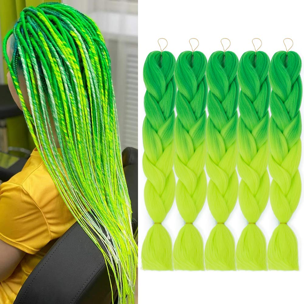 24 Inch Ombre Jumbo Braiding unisex Limited price Hair Extensions