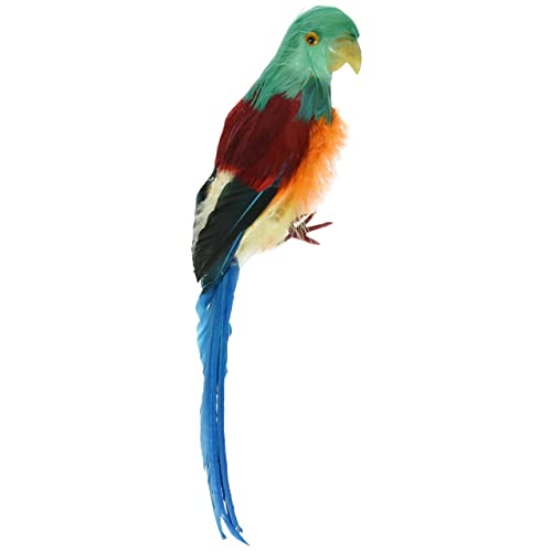 Darice Bird 12 inch Feathered Parrot 12
