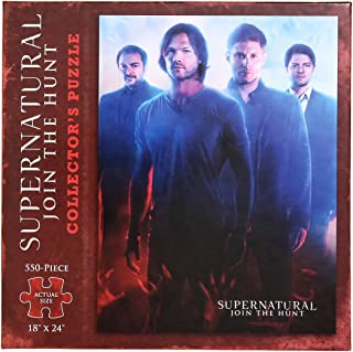 Supernatural Join The Hunt Season 10 Collector's Puzzle Hot Topic Exclusive