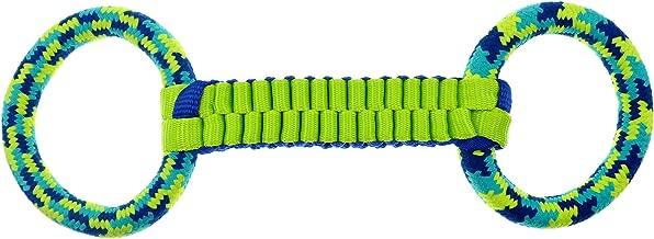K9 Fitness Dog Toys by Zeus X-Large Ballistic Twist & Rope, Tough Rope & Nylon Construction