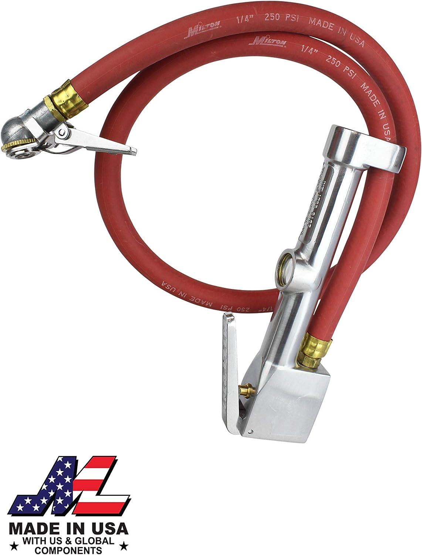 Milton 503 Heavy-duty Very popular Analog Finally resale start Tire Inflator Gauge with Pressure