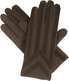 Signature Men's Gloves, Spandex Stretch with Warm Knit Lining