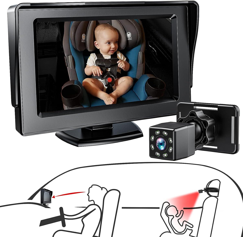 Itomoro Baby Car Mirror Ranking TOP18 Camera Facing Rear for Choice Backse
