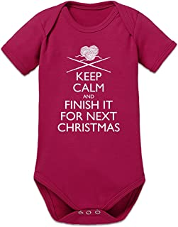 Shirtcity Finish It for Next Christmas Baby Strampler by