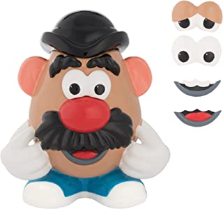 "Vandor 56041 Mr. Potato Head Ceramic Sculpted Cookie Jar, 10.5 x 8 x 11.75"", Multicolor"