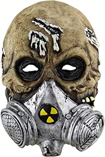 Halloween Latex Head masks Gruesome Zombie Costume Cosplay Props Gas Masks
