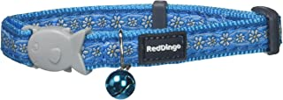 Red Dingo 12mm Daisy Chain Cat Collar, Turquoise, Small