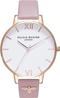 Olivia Burton Womens Quartz Watch, Analog Display and PU Strap OB16ES15