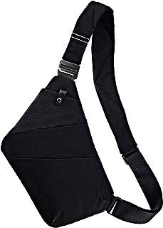 Ceephouge Sling Bag Crossbody Backpack Chest Shoulder Bag Waterproof Sling Backpack for Men Women