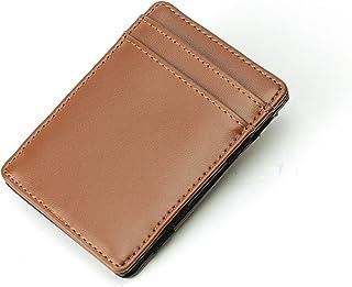 Magic Wallet - Magical Flip, for Men Women Kids - Genuine Leather Thin Wallet 3 Colors
