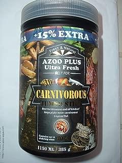 385 GM (1150 ML) + 15% EXTRA AZOO PLUS CARNIVOROUS AROWANA JUMBO STICKS
