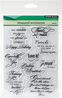 Penny Black Clear Stamps 5 x 7-inch, Multi-Colour, 0.39 x 14.61 x 22.23 cm