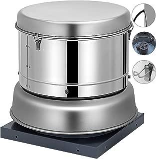 OrangeA 1000 CFM Roof Fan Up-blast Restaurant Exhaust Fan High Speed Direct Drive Up-blast Exhaust Fan 250W