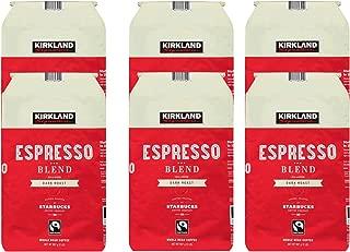 Kirkland Signature Espresso Blend Coffee 2.5 lb.(Pack of 6)