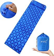 Nice C Ultralight Sleeping Pad, Inflatable Camping Mat, Camping Foam Pad, Foldable Air Mattress for Camping, Backpacking, Traveling and Hiking with Carry Bag