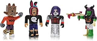 Roblox Celebrity Collection - Mischief Night Four Figure Pack [Includes Exclusive Virtual Item]