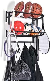 Sunix Sports Equipment Storage, Ball Storage Rack...