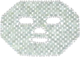 Lurrose 100% natuurlijk jademasker, natuurlijk jadeslaapmasker, oogmasker, anti-aging gezichtsslaapmasker voor gezichtsver...