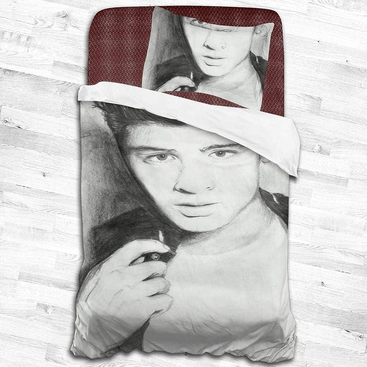 急性差し迫った到着寝具カバーセット、掛け布団カバー 枕カバー ザイン マリクZayn Malik 掛け布団カバー1つ+ 20