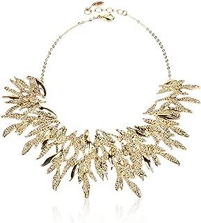 Gold Tone Bravos Statement Necklace