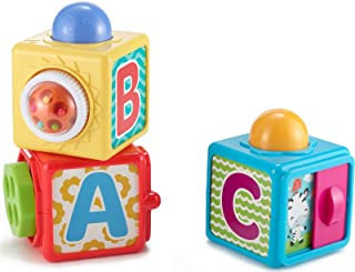 Fisher-Price Stacking Action Blocks,Multicolor