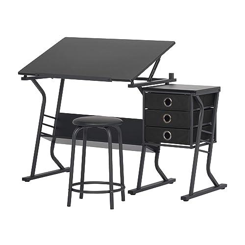 Prime Art Desks With Storage Amazon Com Download Free Architecture Designs Rallybritishbridgeorg