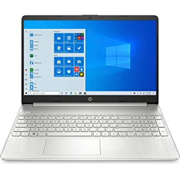 "HP 15s-eq0025ns - Ordenador portátil de 15.6"" FullHD (AMD Ryzen 5 3500U, 8GB RAM, 256GB SSD, AMD Radeon Vega 8, Windows 10 Home) plata natural- Teclado QWERTY Español"