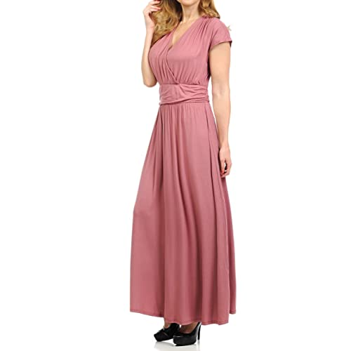 Cap Sleeve Maxi Dresses Amazon Com