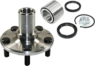 DTA D930502+NT513248 Rear Wheel Hub Wheel Bearing Kit Left or Right Fits Subaru Legacy Impreza Forester With Seals Nut Ret...