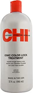 Ionic Color Lock Treatment by CHI for Unisex - 32 oz Treatment
