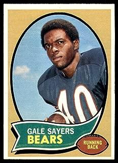 Football NFL 1970 Topps #70 Gale Sayers VG Bears