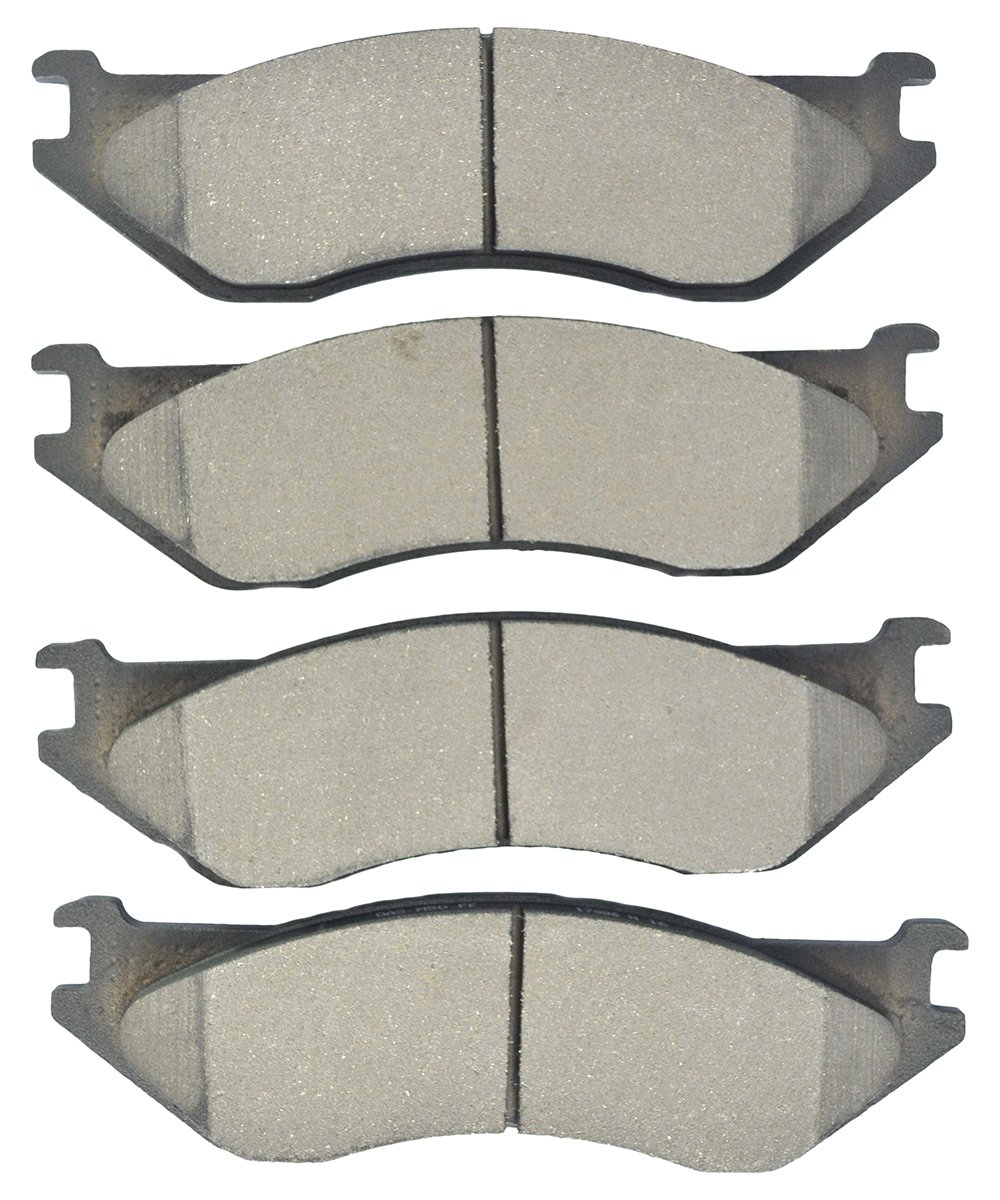 Dash4 MD1396 Semi-Metallic Brake Pad