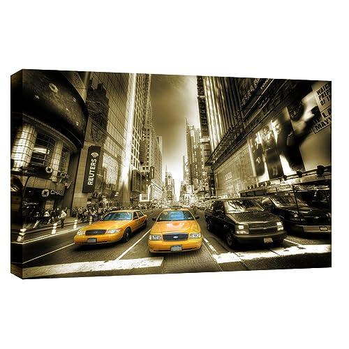 C024 New York Taxi canvas print