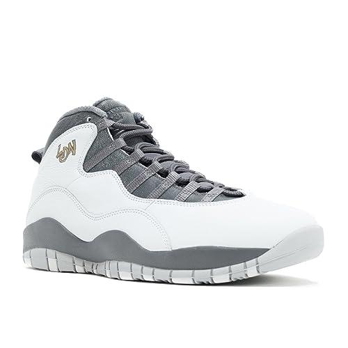 premium selection 3ec57 cff27 Nike Air Jordan Retro 10, Scarpe da Basket Uomo