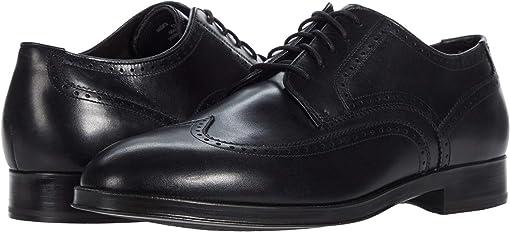 콜한 도슨 그랜드 옥스포드 슈즈 Cole Haan Dawson Grand 360 Wing Tip Oxford Wp,Black