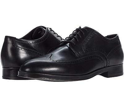 Cole Haan Dawson Grand 360 Wing Tip Oxford Wp (Black) Men
