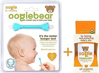 Oogie nosebalm - 1oz (29g) Ointment, Stick and oogiebear Bundle