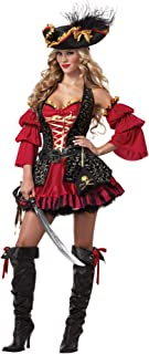 Sexy Pirate Costume Adult Women Halloween Carnival Cosplay Pirates Fancy Dress Stage Performance Uniforms