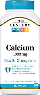 Sponsored Ad - 21st Century Calcium Plus D Tablets, 1000 mg, 90 Count