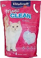 Vitakraft Pet Care VK14035 Magic Clean Classic Cat Litter, 5L