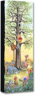 Disney Fine Art Tree Climbers by Michelle St. Laurent Treasures on Canvas Winnie The Pooh 24 Inches x 8 Inches Reproduction Gallery Wrapped Giclée on Canvas Wall Art